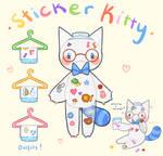 [CLOSED] Sticker Kitty Adopt