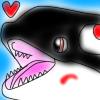 Markiwhale love icon by Dolphingurl21stuff