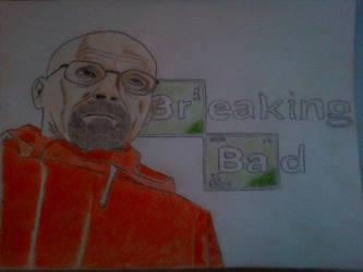 Walter White Breaking Bad by LiamLittle
