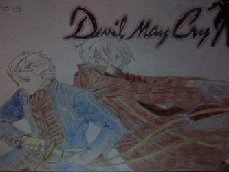 Dante and Vergil Devil May Cry by LiamLittle