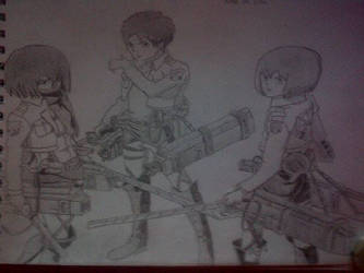 Attack On Titan by LiamLittle