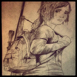 The Last Of Us - Ellie by LiamLittle