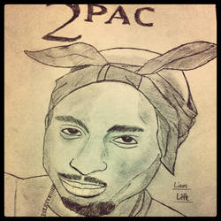 2pac by LiamLittle