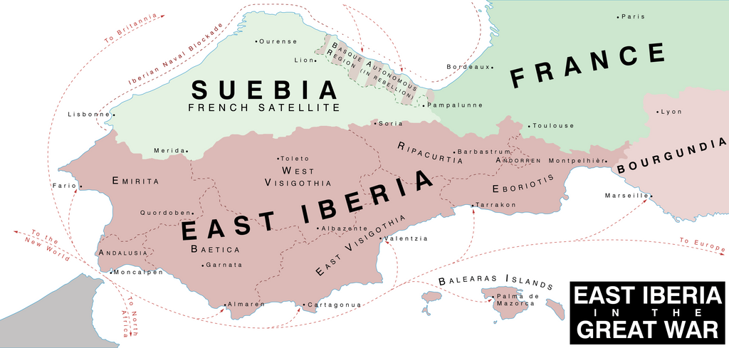 MTMG 4: East Iberia in the Great War by CourageousLife
