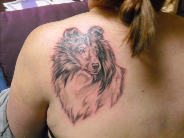 sheepdog tattoo pictures to pin on pinterest tattooskid. Black Bedroom Furniture Sets. Home Design Ideas
