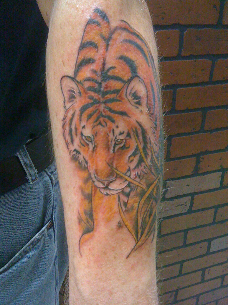 Color Tiger Tattoo by Ventiscaseer on deviantART