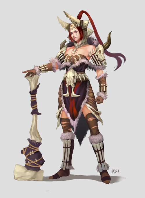 Lady Barbarian Inspirations - Steve Jackson Games Forums