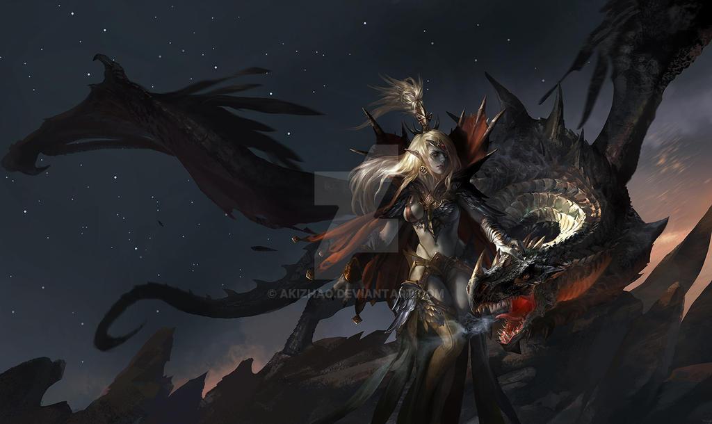 The troll sacrifice by akizhao
