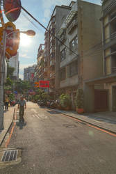 Taipei's alley