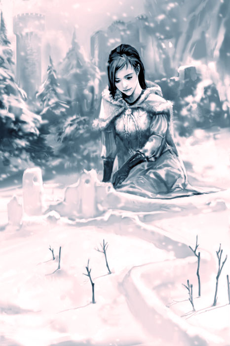 Sansa by akizhao