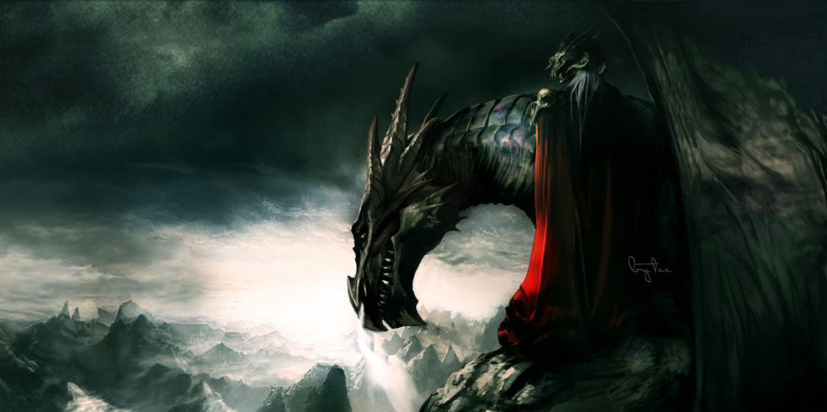 dragon by ~akizhao