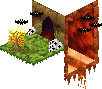 Pixel-Cube Collab - Lava Cave by FoxRichards