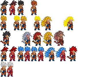 Goku Sprite Dragon Ball Super By Eomelius On Deviantart