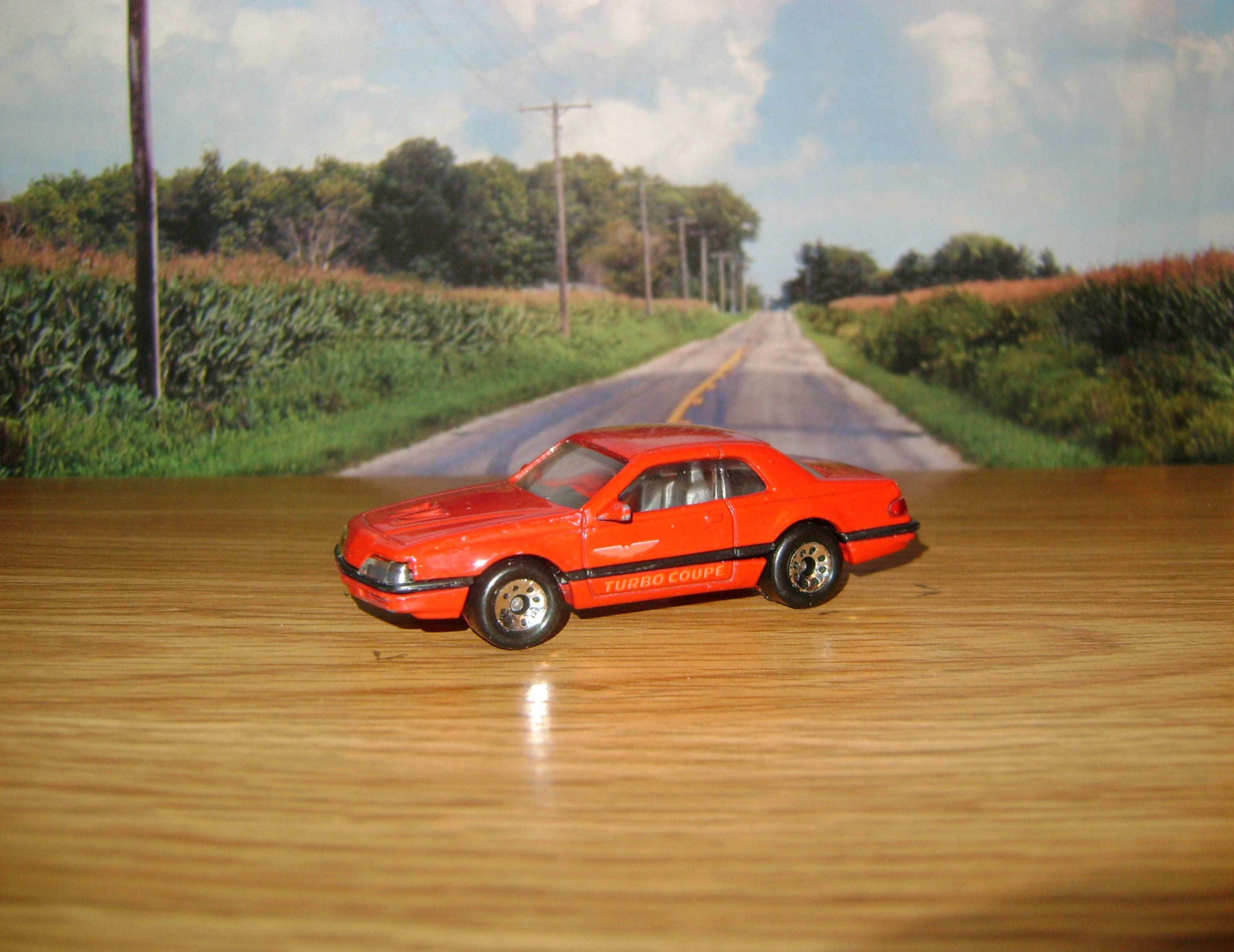1988 Ford Thunderbird Turbo Coupe by HuskyDiecastPlanet on DeviantArt