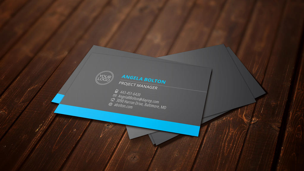 Clean Business Card by FIRSTxAIDxKIT on DeviantArt