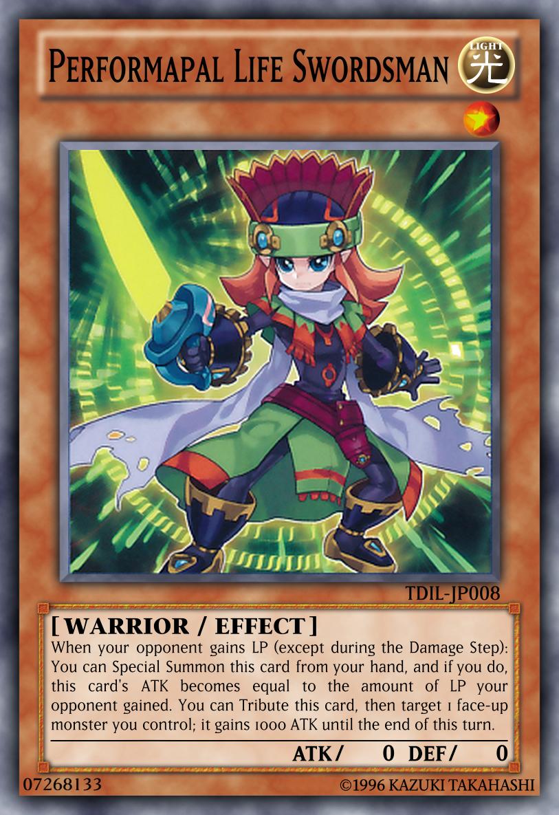 performapal life swordsman by kyoryugold97 on deviantart
