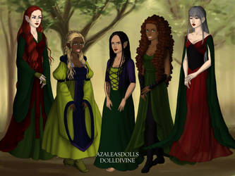 Middle Earth Races by namesarestupid