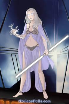 Emma Frost Sci Fi Warrior