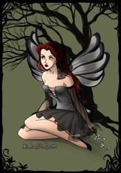 Sansa Stark Dark Fairy by namesarestupid