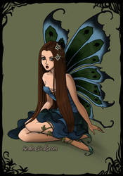 Margeary Tyrell Dark Fairy by namesarestupid