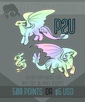 The HTTYD Fury Set - P2U Base by Electric-Adopts