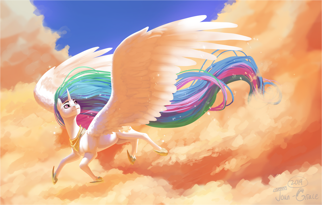 Afternoon in the Clouds by Joan-Grace