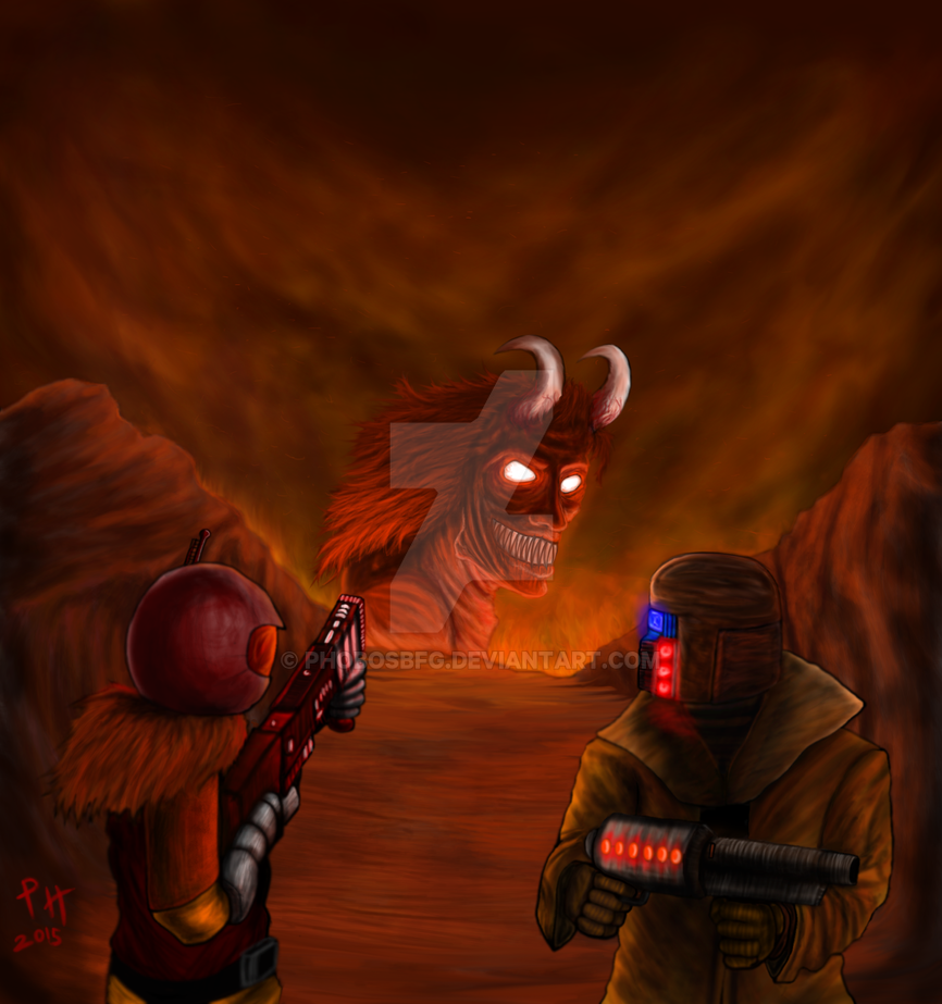 The Hell Hunt by PhobosBFG