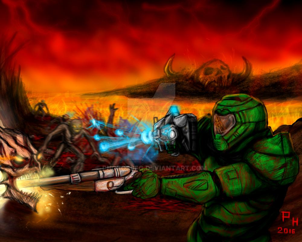 FIGHT LIKE HELL by PhobosBFG