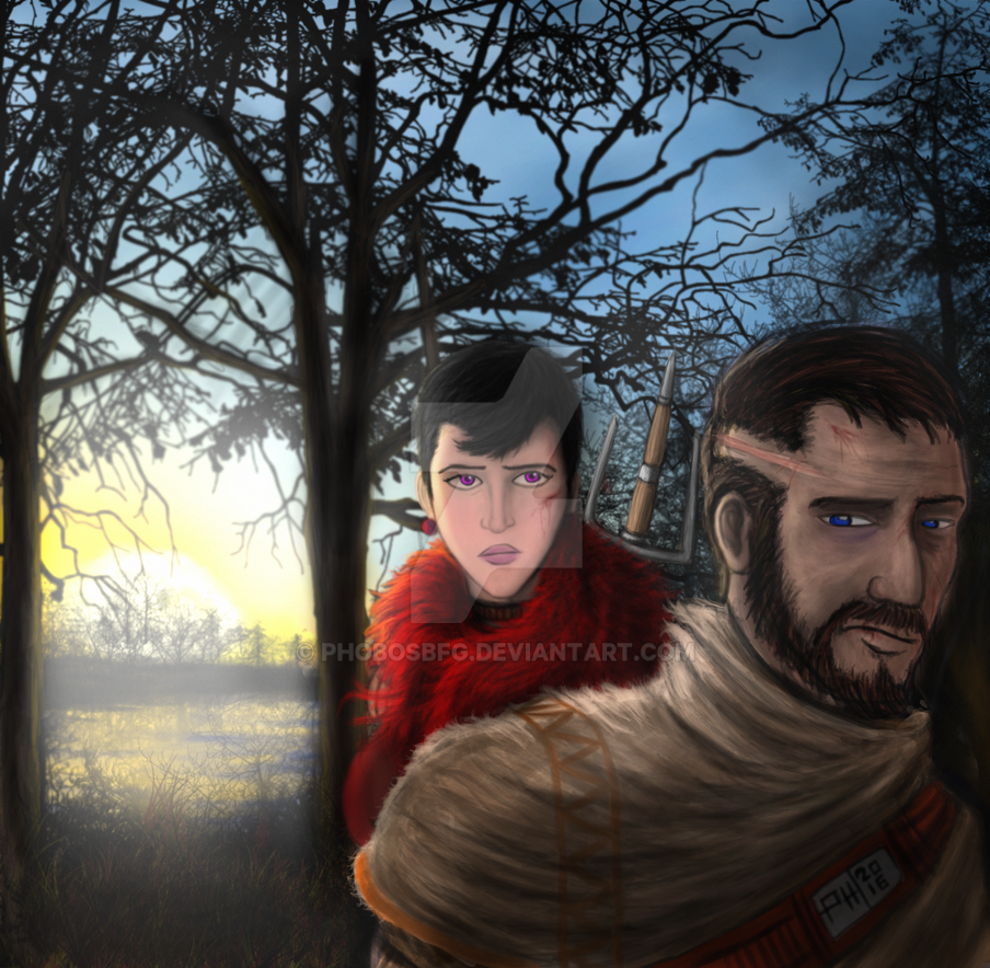 Alvah and Ricardo by PhobosBFG