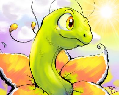 Shiny Meganium   Pokemon Shiny Meganium