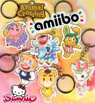 Animal Crossing Sanrio Amiibo Keychains by AltiaStudio