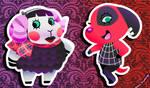 Themey-Dreamies 2 - Muffy and Cherry by AltiaStudio