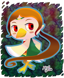 Medli - ACNL Amiibo Exclusive by AltiaStudio