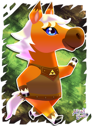 Epona - ACNL Amiibo Exclusive by AltiaStudio