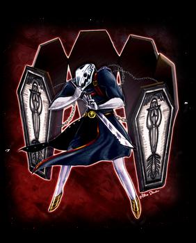 Thanatos (Death) - Persona 5 Commission