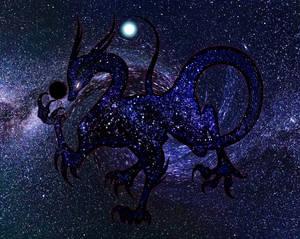 Dark Matter Deity - Black Hole Dragon