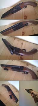 Hydra triple barrel shotgun