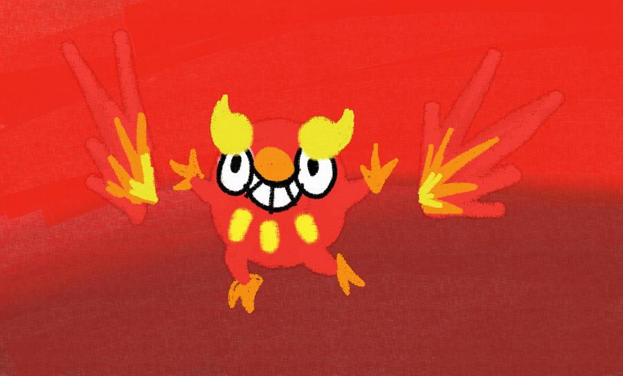 Darumaka's FirePower by MidnyghtDew