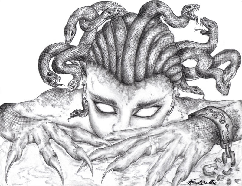 Medusa by Nemesis-of-the-Gods