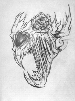 Skull Tattoo Idea