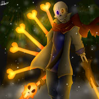 Dustbelief papyrus by islaboo22