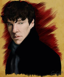 Benedict Study by savagesnakes