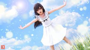 Final Fantasy VII-Tifa childhood-Bright smile