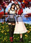 Commission-Tifa and Aerith 01