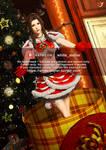 FF7Remake-Merry Christmas-Aerith-Christmas present