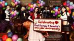 Celebrating FF7 Remake's one year anniversary by Vera-White