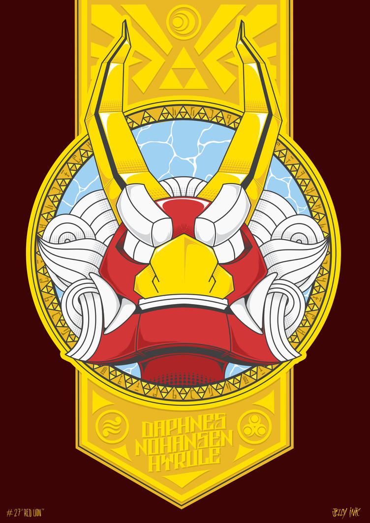 30DaysOfZelda - King of Red Lions by JellyInk