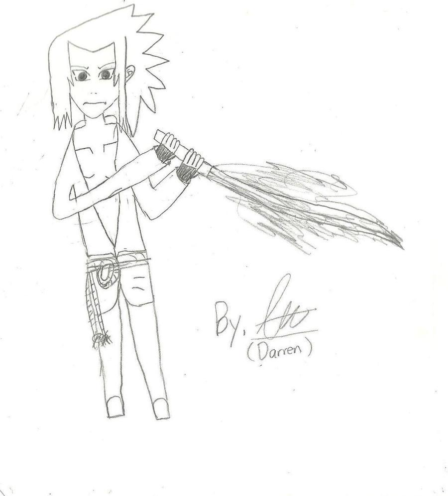 Sasuke Sword Chidori by SasukeDarrenUchiha on deviantART