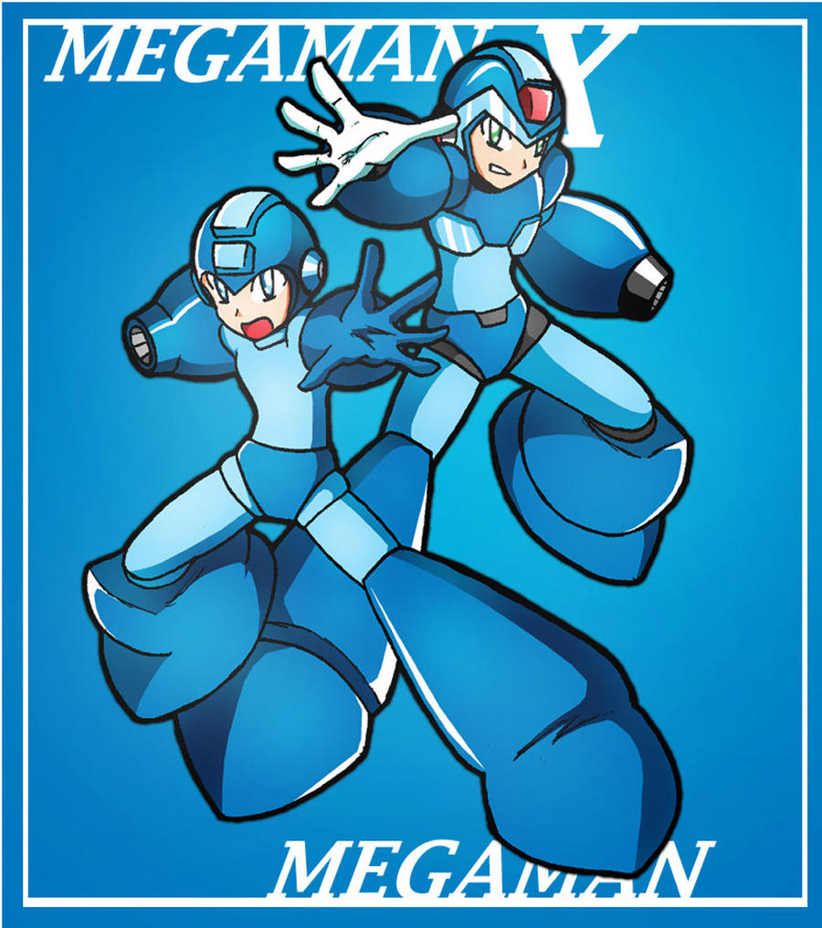 Double Heroes: X and Megaman. by Shoutaro-Saito