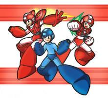Mega Man 6 : Rush Adapter by SaitoKun-EXE